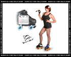 Albany All Stars Roller Derby 2011 Calendar April
