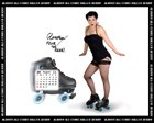 Albany All Stars Roller Derby 2011 Calendar September