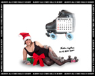 Albany All Stars Roller Derby 2011 Calendar January 2012
