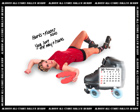 Albany All Stars Roller Derby 2011 Calendar February