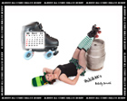 Albany All Stars Roller Derby 2011 Calendar March