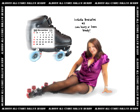 Albany All Stars Roller Derby 2011 Calendar December