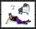 Albany All Stars Roller Derby 2011 Calendar October