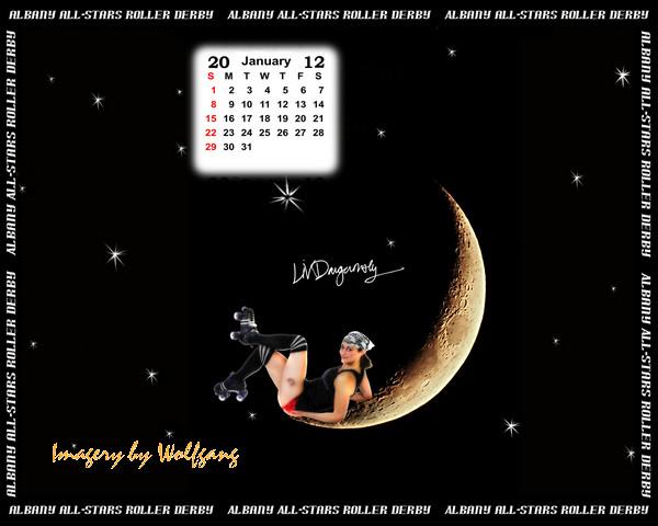 Roller Derby Wallpaper Roller Derby 2011 Calendar